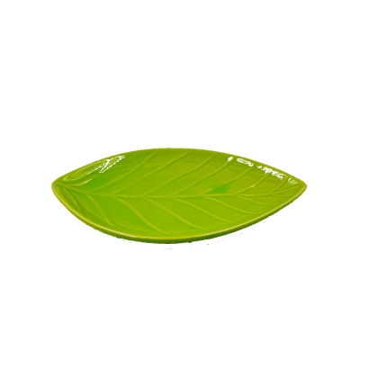 Jewelry Storage Plate / Ceramic Leaf dish / Small Snack Vinegar Dish / fruit small plate / Appetizers Snack Plates / Kitchen Utensils